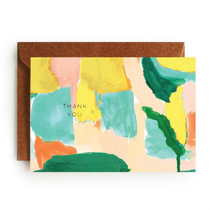 Brim and Bright Watercolor Greeting Cards Set of 20