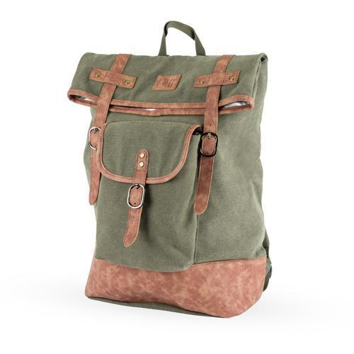Insulated Canvas Cooler Adventure Backpacks-Home - Travel + Outdoors - Insulated Beverage Carriers-FOSTER AND RYE-Green-Peccadilly