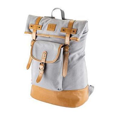 Insulated Canvas Cooler Adventure Backpacks-Home - Travel + Outdoors - Insulated Beverage Carriers-FOSTER AND RYE-Grey-Peccadilly