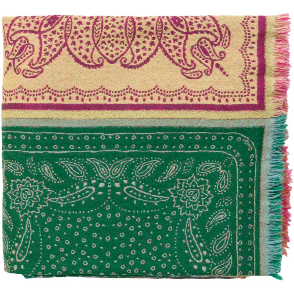 Indira 50 x 70 Woven 100% Wool Bohemian Multicolor Throw Blanket-Home - Accessories - Throw Blankets-SURYA-Peccadilly