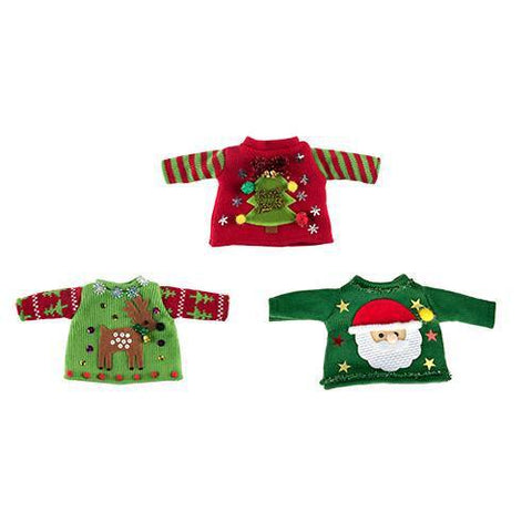 Jubilee Ugly Christmas Sweater for Wine Bottles