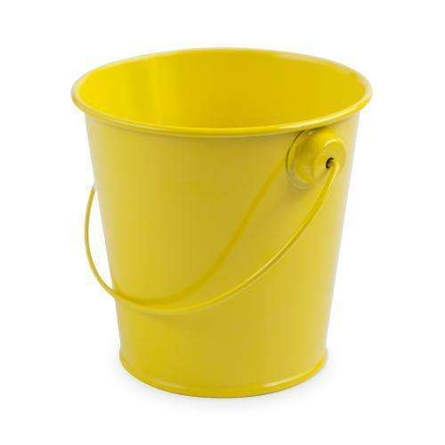 Set of 4 Food Safe Decorative Pails-Home - Party Supplies - Party Decoration-CAKEWALK-Yellow-Peccadilly