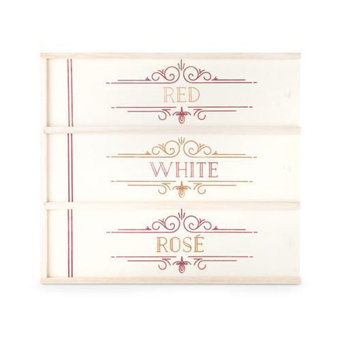 Marketplace Red, White and Ros Wine Gift Box