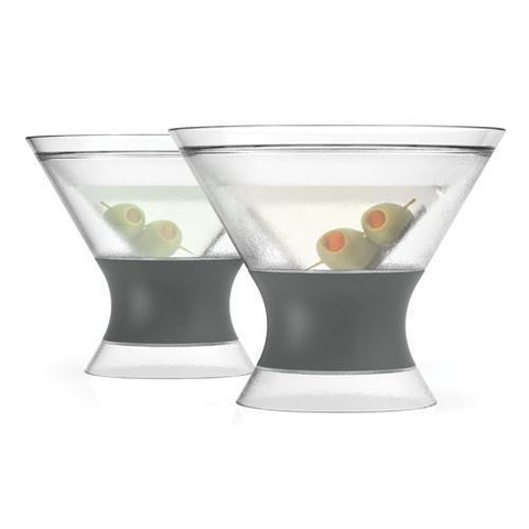 FREEZE Martini Cooling Cups Set of 2