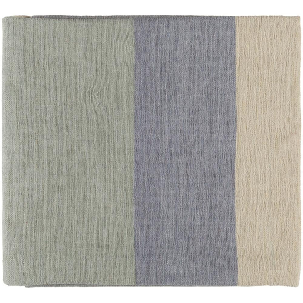 Meadowlark 50 x 70 Chenille Cotton Modern Throw Blanket-Home - Accessories - Throw Blankets-SURYA-Light Blue-Peccadilly