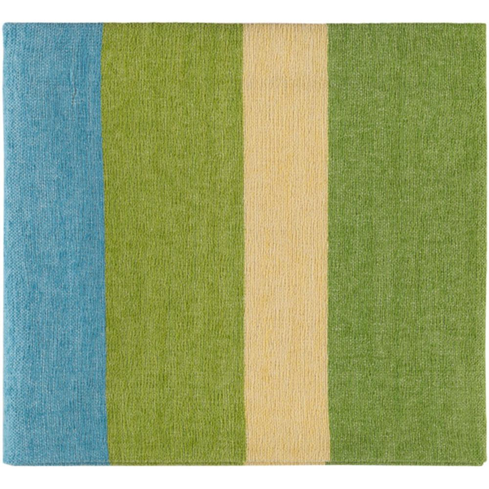 Meadowlark 50 x 70 Chenille Cotton Modern Throw Blanket-Home - Accessories - Throw Blankets-SURYA-Green-Peccadilly