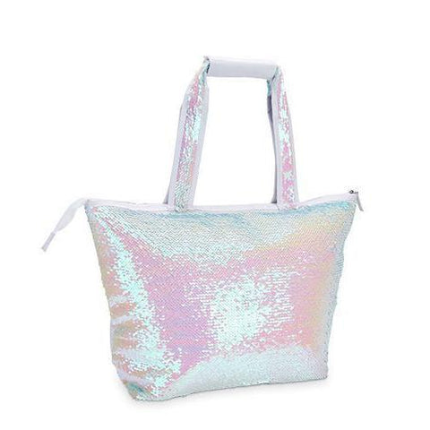 Mermaid Sequin Cooler Tote