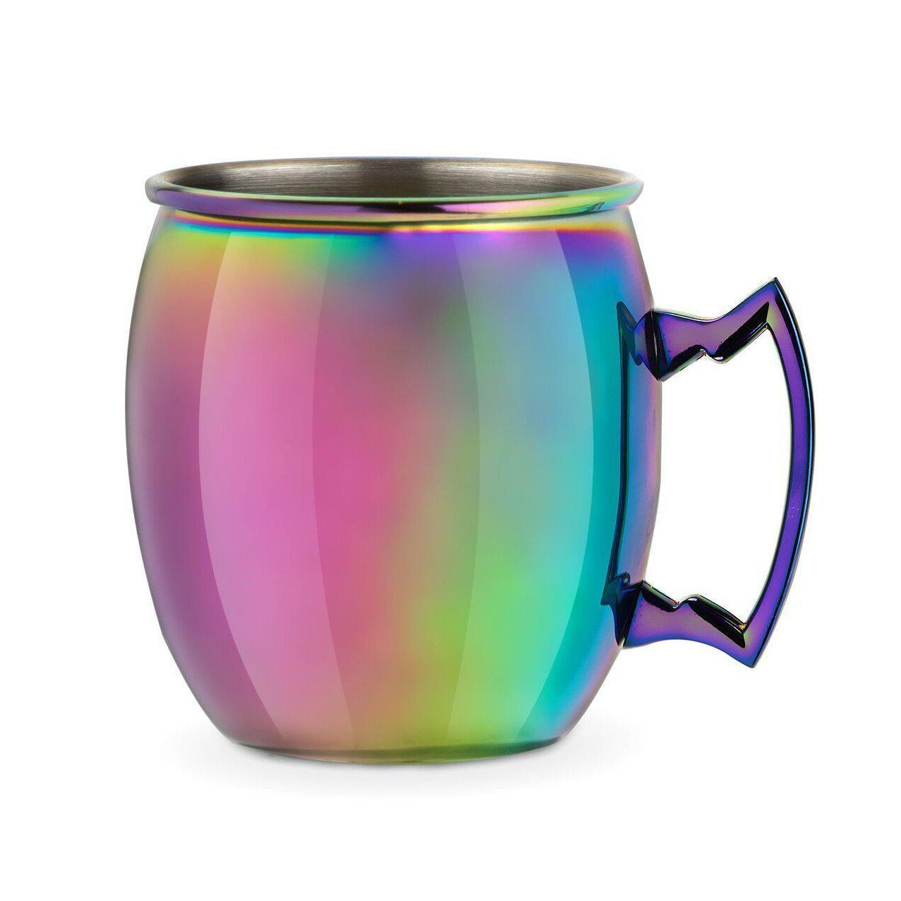 Mirage Iridescent Moscow Mule Mug-Home - Entertaining - Cocktail Glasses-BLUSH-Peccadilly