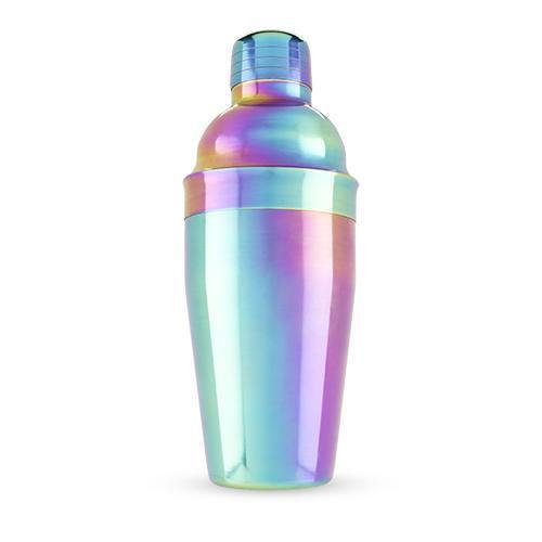 Mirage Rainbow Shaker-Home - Entertaining - Cocktail Shakers-BLUSH-Peccadilly