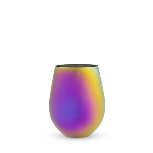 Mirage Stemless Wine Glass-Home - Entertaining - Wine Glasses Sets-BLUSH-Peccadilly
