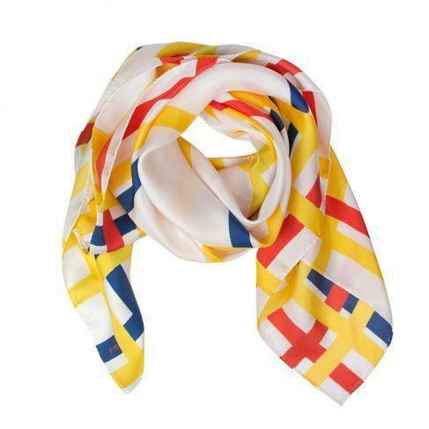 Mondrian New York City Silk Scarf