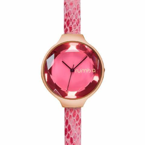 Orchard Gem Exotic Leather Watch