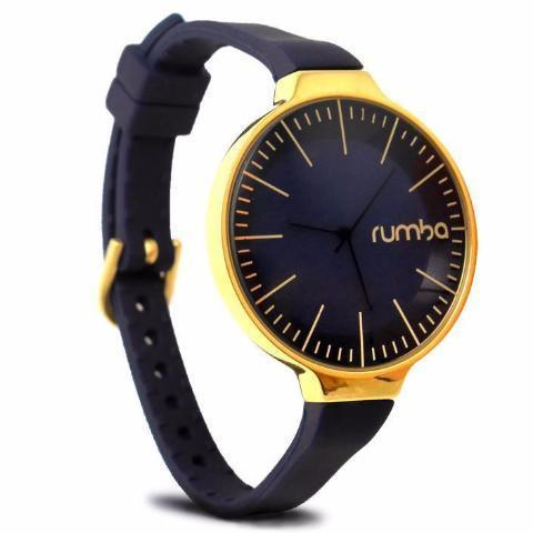 Orchard Gold Watch in Midnight Blue & Yellow Gold