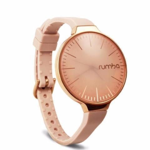Orchard Gold Watch in Rose Smoke & Rose Gold