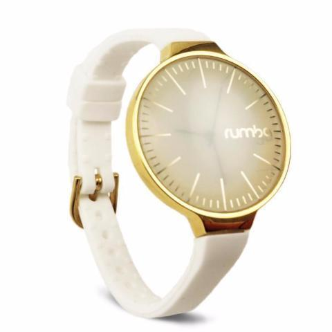 Orchard Gold Watch in White & Gold