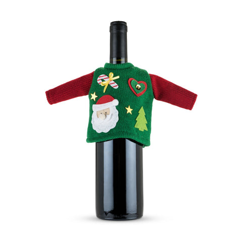 Yule Ugly Christmas Sweater for Wine