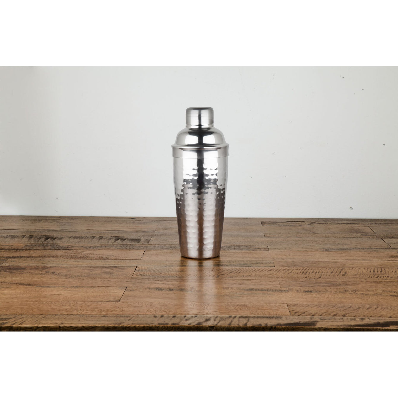 Admiral Classic Stainless Hammered Shaker-VISKI-Peccadilly