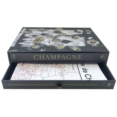 Champagne Lovers Boxed Book and Map Set