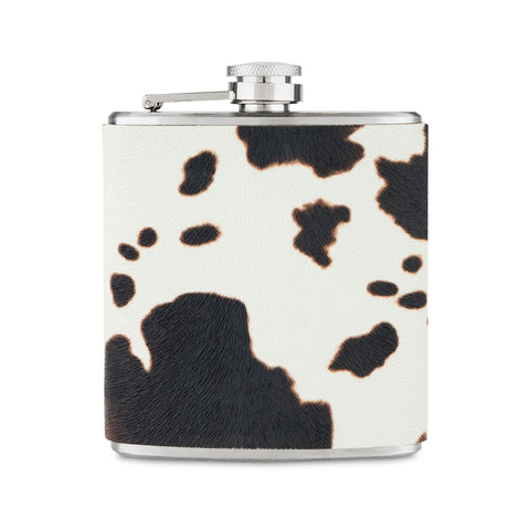 Cowhide Flask
