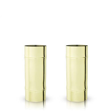 Pacific Bamboo Highball Glasses Set of 2