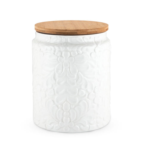 Pantry Textured Ceramic Large Canister