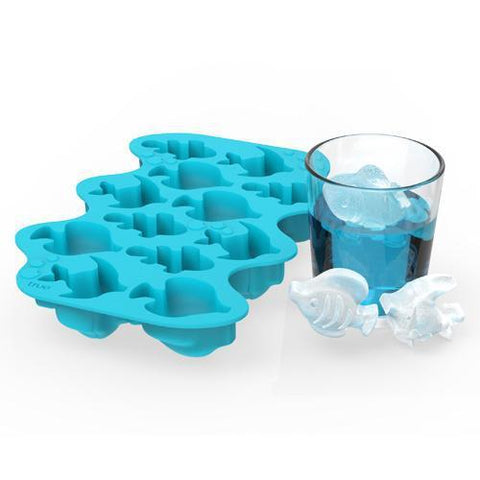 Parad-Ice Fish Silicone Ice Cube Tray