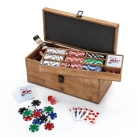 Poker & Liquor Box Set