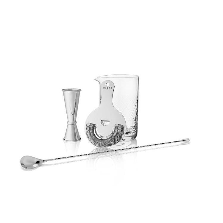 Mixologist Barware Gift Set-Home - Entertaining - Mixologist Tools-VISKI-Stainless Steel-Peccadilly