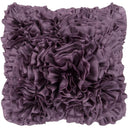 Prom Ruffle Texture Square Throw Pillow-Home - Accessories - Pillows-SURYA-18x18 Case Only-Purple-Peccadilly