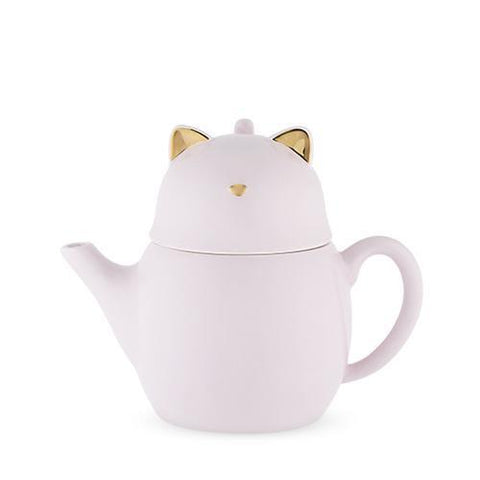 Purrrcy Cat Tea for One Set
