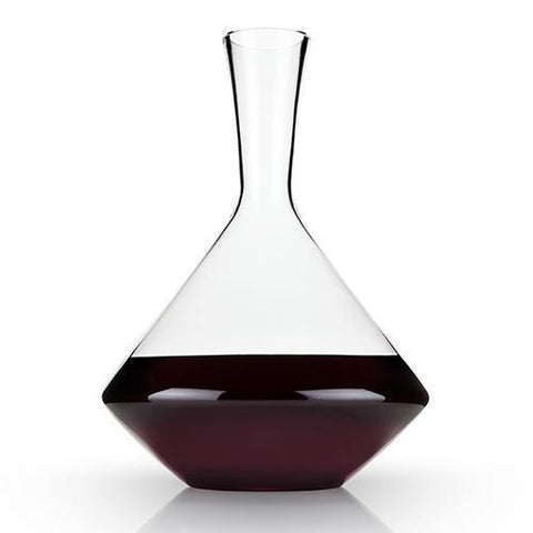 Raye Angled Lead Free Crystal Decanter
