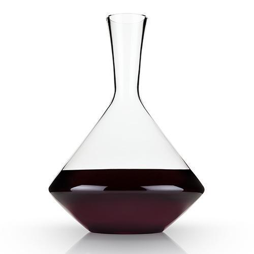 Raye Angled Lead Free Crystal Decanter-Home - Entertaining - Decanters-VISKI-Peccadilly