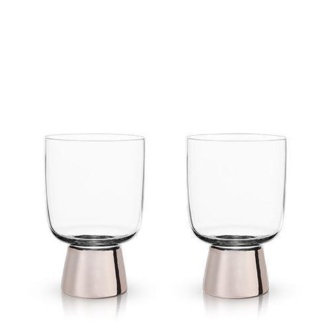 Raye Copper Footed Tumblers