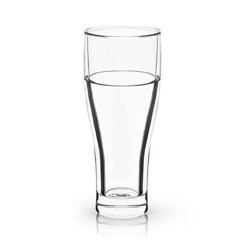 Raye Double Walled Chilling Beer Glass