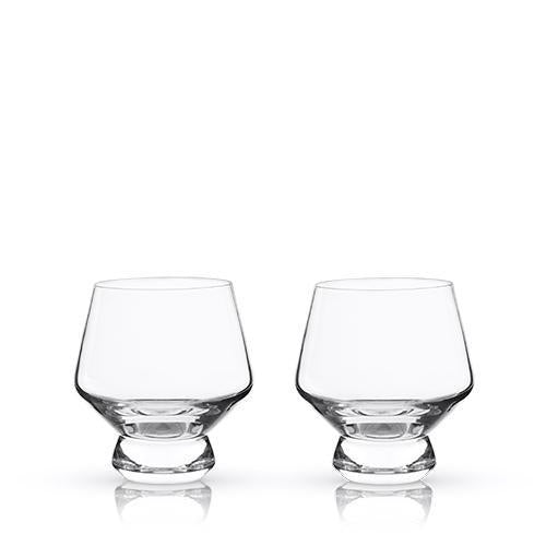 Raye Footed Punch Cups Set-Home - Entertaining - Cocktail Glasses Sets-VISKI-Peccadilly