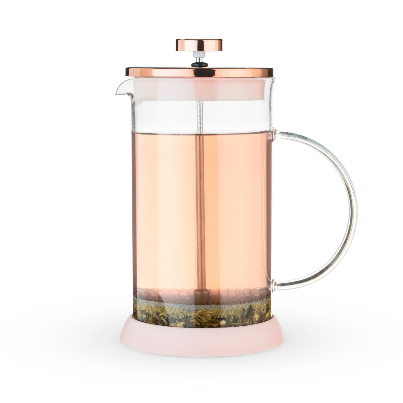 Riley Glass Tea Press Pot-Home - Coffee + Tea - Tea Pots + Kettles-PINKY UP-Peccadilly