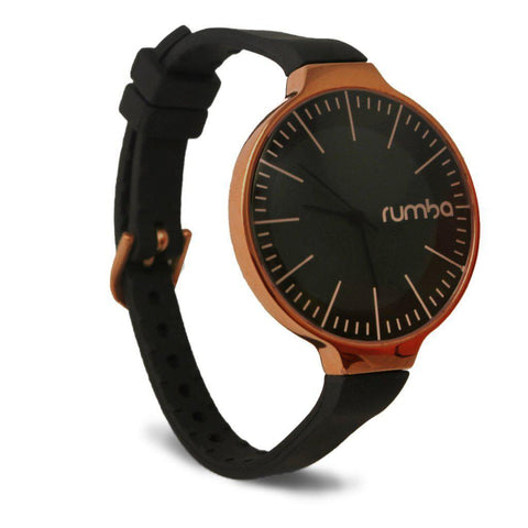 RumbaOrchard Gold Watch Black and Rose Gold