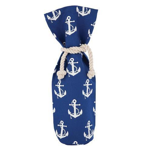 Shipshape Canvas Wine Sack-Home - Gifting - Bottle Bags-TWINE-Peccadilly