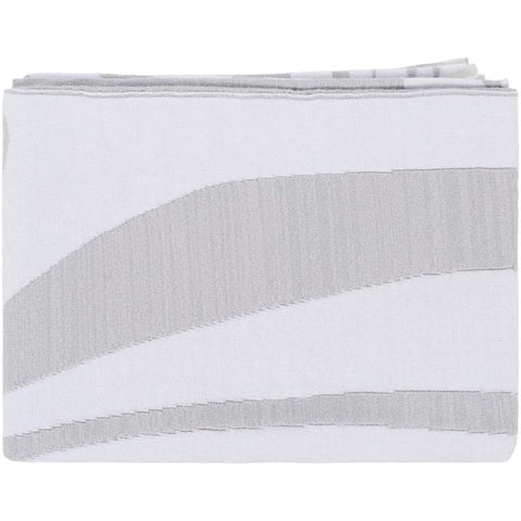 Skyros 50 x 60 Metallic Cotton Modern Throw Blanket