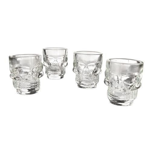 Skull Shot Glasses-Home - Entertaining - Shot Glasses-TRUE-Peccadilly