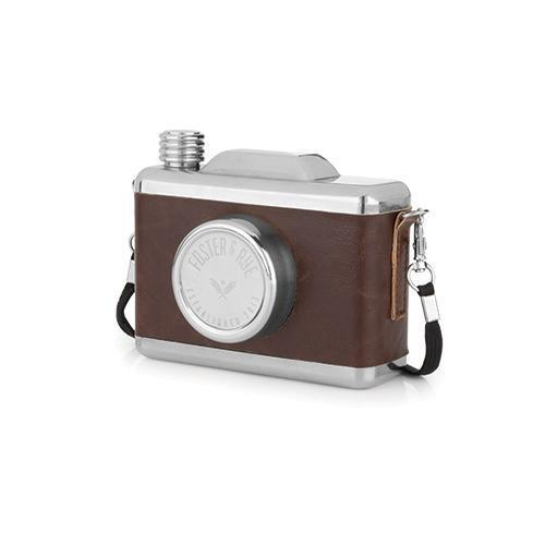 Snapshot Flask-Home - Travel + Outdoors - Flasks + Growlers-FOSTER AND RYE-Peccadilly