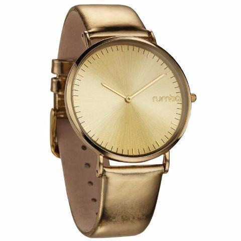 SoHo Metallic Genuine Leather Watch-Women - Accessories - Watches-RUMBATIME-Gold-Peccadilly