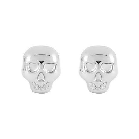 Stainless Steel Skull Glacier Rocks Set of 2