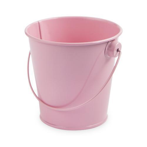 Set of 4 Food Safe Decorative Pails-Home - Party Supplies - Party Decoration-CAKEWALK-Pink-Peccadilly