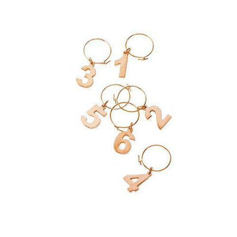 Summit Copper Wine Charms