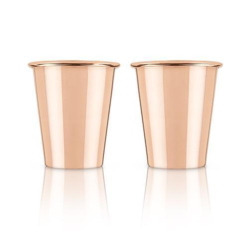 Summit Solid Copper Shot Glasses-Home - Entertaining - Shot Glasses-VISKI-Peccadilly