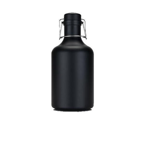 Warren Matte Black Stainless Steel Growler