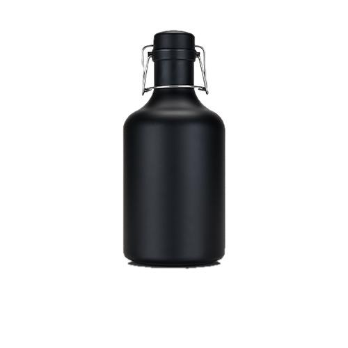 Warren Matte Black Stainless Steel Growler-Home - Travel + Outdoors - Flasks + Growlers-VISKI-Peccadilly