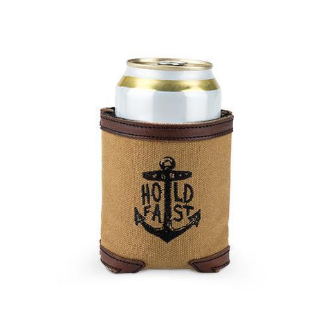 Waxed Canvas Insulated Drink Holder