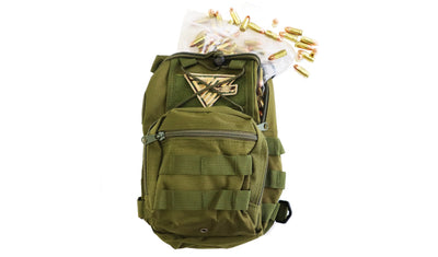 Range Bag OD Green 250rds 115gr 9mm - Dynamic Munitions 308 Brass, shooting accessories, long range shooting, 223 rounds, bulk ammo, 223 shells, chrome moly, 308 once fired brass, shooting bags 223 rem, 5.56